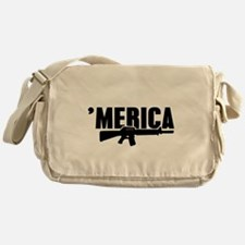 MERICA Rifle Gun Messenger Bag