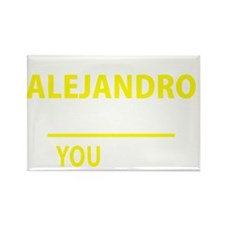 Cute Alejandro Rectangle Magnet
