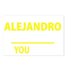 Funny Alejandro Postcards (Package of 8)