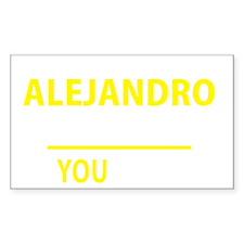 Unique Alejandro's Decal