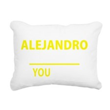 Cute Alejandro Rectangular Canvas Pillow
