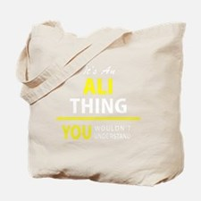 Cute Ali Tote Bag