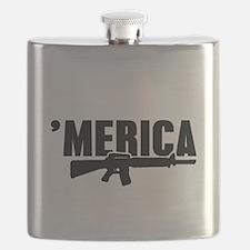 MERICA Rifle Gun Flask