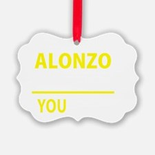 Cute Alonzo Ornament