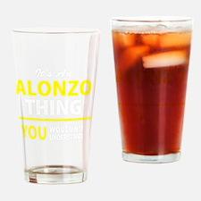 Cute Alonzo Drinking Glass