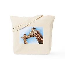 Giraffe & Calf Tote Bag