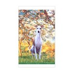 Spring / Whippet Sticker (Rectangle)