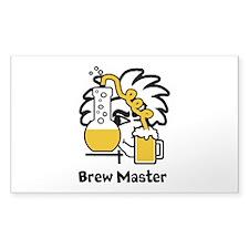 Custom Brew Master Decal