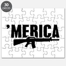 MERICA Rifle Gun Puzzle