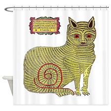 Kazan Cat Shower Curtain