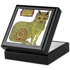 Kazan Cat Keepsake Box