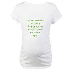 Pregnant - Suprise - April Shirt
