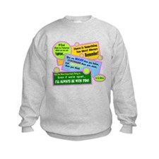 Always Be With You-A. A. Milne Sweatshirt