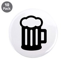 "Beer 3.5"" Button (10 pack)"
