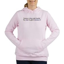 Lefties Rule Design 1 Women's Hooded Sweatshirt