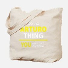 Funny Arturo Tote Bag