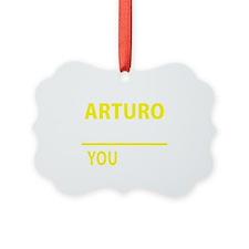Cute Arturo Ornament