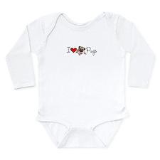 charm_lv pugs super link.jpg Long Sleeve Infant Bo