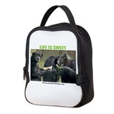 Save the Chimps - Life is Sweet Neoprene Lunch Bag