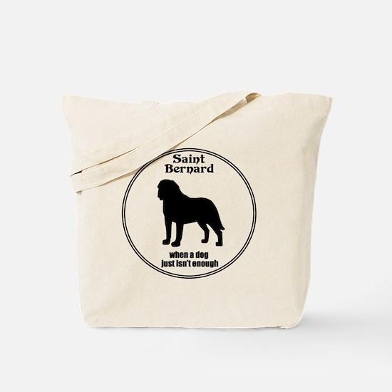 Saint Enough Tote Bag
