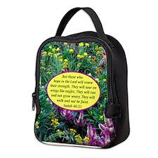 ISAIAH 40:31 Neoprene Lunch Bag