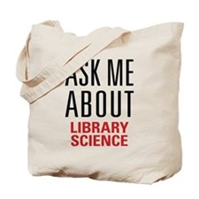 Library Science Tote Bag