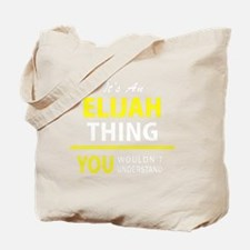 Cute Elijah Tote Bag