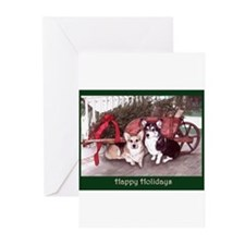 Cute Welsh corgi christmas Greeting Cards (Pk of 20)