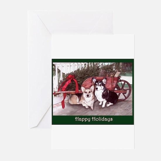 Cute Corgi country Greeting Cards (Pk of 20)