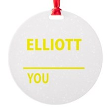 Cute Elliott Ornament