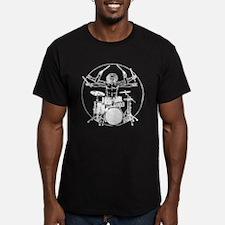 Vintage Rock N Roll T Shirt Da Vinci DrumS Vitruvi
