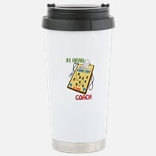 #1 Head Coach Travel Mug