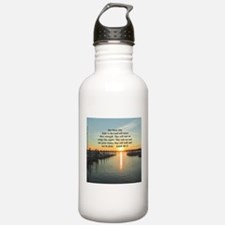 ISAIAH 40:31 Sports Water Bottle