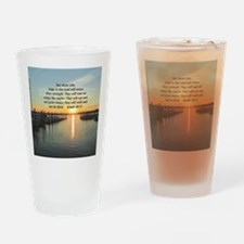 ISAIAH 40:31 Drinking Glass