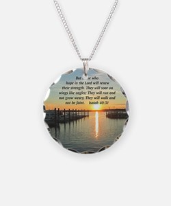 ISAIAH 40:31 Necklace