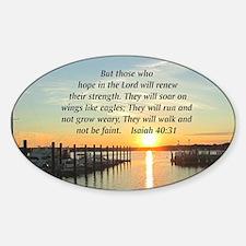 ISAIAH 40:31 Decal