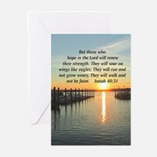 ISAIAH 40:31 Greeting Cards (Pk of 20)