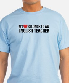 My Heart English Teacher T-Shirt