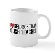 My Heart English Teacher Mug