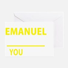 Cute Emanuel Greeting Card