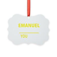 Emanuel Picture Ornament