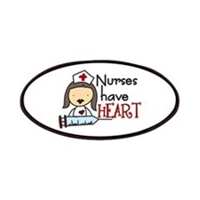 Nurses Have Heart Patches