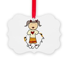 Jumping Rope Ornament