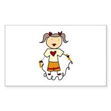 Jumping Rope Decal