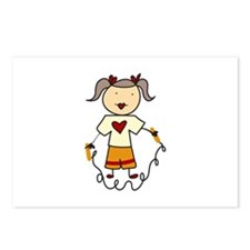 Jumping Rope Postcards (Package of 8)