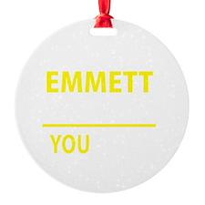 Cute Emmett Ornament