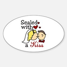 With A Kiss Decal