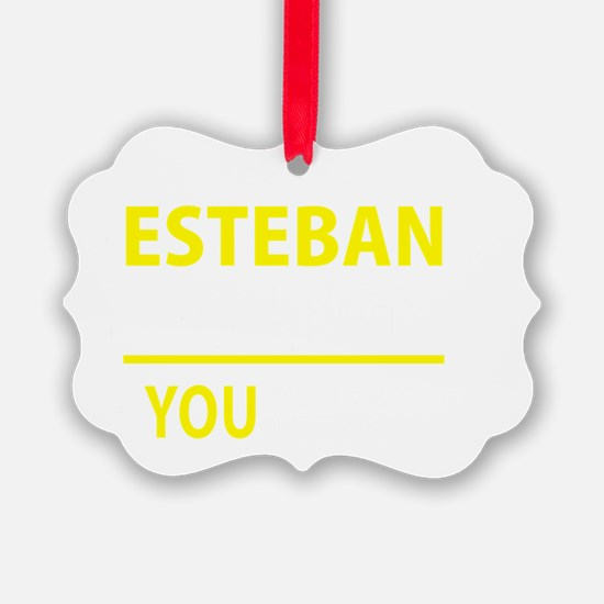 Cute Esteban Ornament
