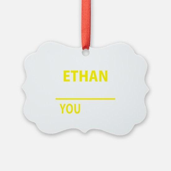 Unique Ethan Ornament