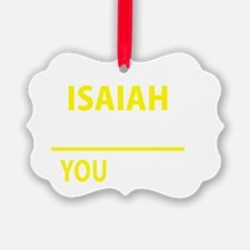 Cute Isaiah Ornament
